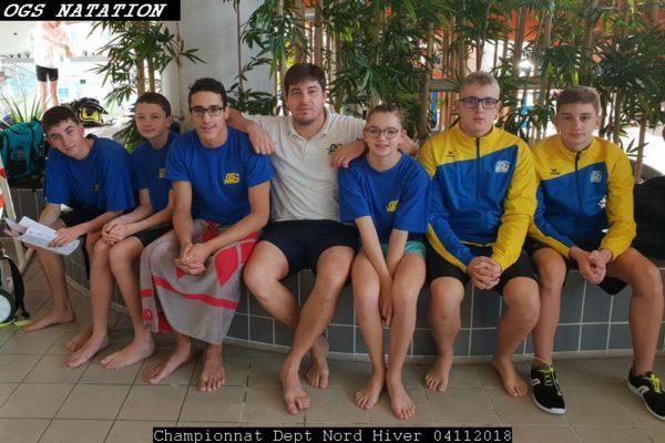 Championnat Départemental Nord à la piscine Guynemer